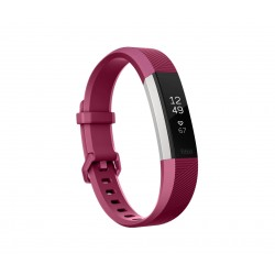 Fitbit - Alta HR Pulsera de actividad Fucsia, Acero inoxidable OLED