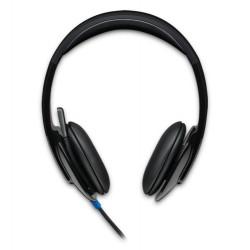Logitech - H540 Binaural Diadema Negro auricular con micrófono