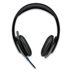 Logitech - H540 Binaurale Diadema Negro auricular con micrófono