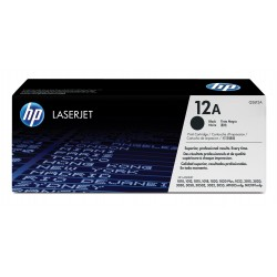 HP - 12A Tóner de láser 2000páginas Negro