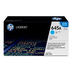 HP - 645A Cartucho de tóner 12000 páginas Cian