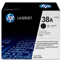 HP - Cartucho de tóner original LaserJet 38A negro