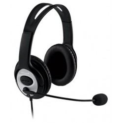 Microsoft - LifeChat LX-3000 Binaurale Diadema Negro auricular con micrófono
