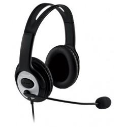 Microsoft - LifeChat LX-3000 USB Binaurale Diadema Negro auricular con micrófono