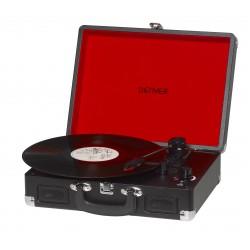 Denver Electronics - VPL-120BLACK Negro tocadisco