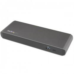 StarTech.com - Dock Thunderbolt 3 para Dos Monitores 4K con 3x Puertos USB 3.0