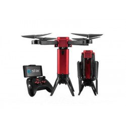 eSTAR - Rocket 30 HD FPV 4rotores 1280 x 720Pixeles 900mAh Negro, Rojo dron con cámara