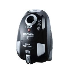 Hoover - Space Explorer Aspiradora cilíndrica 3L 700W A Negro, Plata