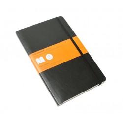 Moleskine - QP616 Negro A5 192hojas cuaderno y block
