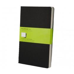 Moleskine - QP318 80hojas Negro cuaderno y block
