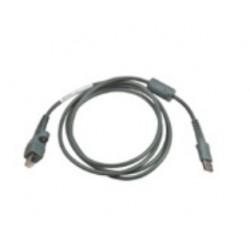 Intermec - 2m USB 2.0 2m Macho Macho Gris cable USB
