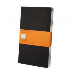 Moleskine - QP316 80hojas Negro cuaderno y block