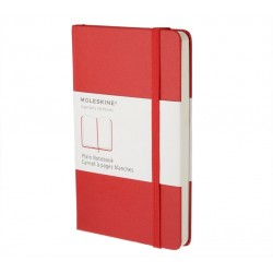 Moleskine - QP012R cuaderno y block Rojo 192 hojas