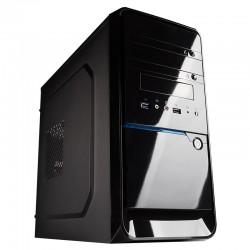 Hiditec - CHA010011 carcasa de ordenador Micro-Tower Negro 500 W