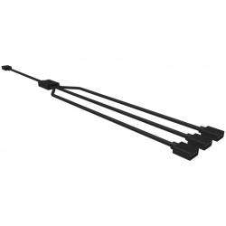 Cooler Master - R4-ACCY-RGBS-R2 Divisor de señal para cable coaxial Negro cable divisor y combinador