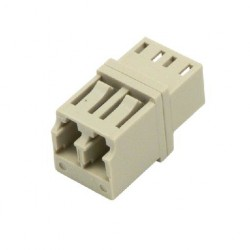 MCL - 2 LC 2x LC Blanco conector