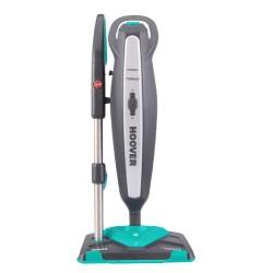 Hoover - CA2IN1D 011 Limpiador a vapor portátil 0.35L 1700W Negro, Azul, Gris