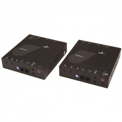 StarTech.com - Juego de Extensor Alargador HDMI 4K con Soporte para Muro Multivídeo - Extensor por IP compatible co