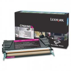 Lexmark - C746A1MG Laser cartridge 7000páginas Magenta tóner y cartucho láser