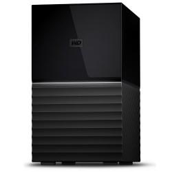 Western Digital - My Book Duo 8000GB Escritorio Negro unidad de disco multiple