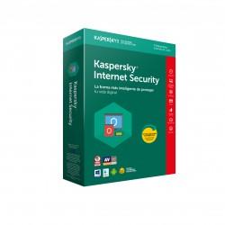 Kaspersky Lab - Internet Security 2018 4usuario(s) 1año(s) Full license Español
