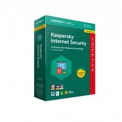 Kaspersky Lab - Internet Security 2018 Renovación