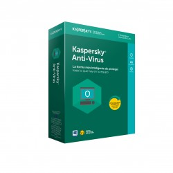 Kaspersky Lab - Anti-Virus 2018 3usuario(s) 1año(s) Full license Español