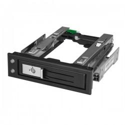 StarTech.com - Bahía de 5,25 Pulgadas para Unidad de Disco Duro o SSD SATA de 3,5 con Intercambio en Caliente - Bac