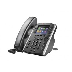 Polycom - VVX 410 Terminal con conexión por cable 12líneas LCD Wifi Negro teléfono IP