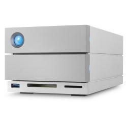 LaCie - 2big Dock Thunderbolt 3 16TB unidad de disco multiple Escritorio Plata