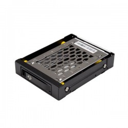 """StarTech.com - Bahía de 3,5"""" para Unidades de Disco de 2,5"""" SATA con Intercambio en Caliente HotSwap Antivibración"""