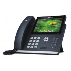 Yealink - SIP-T48S teléfono IP Negro Terminal con conexión por cable LCD 16 líneas