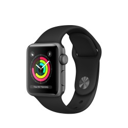 Apple - Watch Series 3 reloj inteligente Gris OLED GPS (satélite)