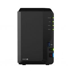 Synology - DiskStation DS218+ servidor de almacenamiento J3355 Ethernet Compacto Negro NAS