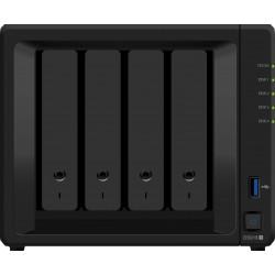 Synology - DiskStation DS918+ servidor de almacenamiento Ethernet Escritorio Negro NAS