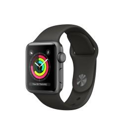 Apple - Watch Series 3 OLED GPS (satélite) Gris reloj inteligente - 22169635