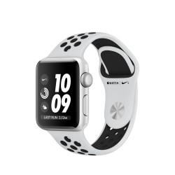 Apple - Watch Nike+ reloj inteligente Silver OLED GPS (satélite)