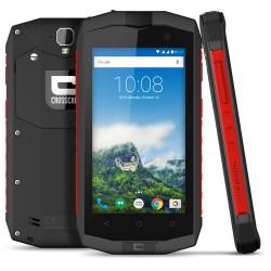 "Crosscall - Trekker M1 core 11,4 cm (4.5"") 2 GB 16 GB SIM doble 4G Gris, Rojo 3000 mAh"