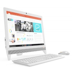 """Lenovo - IdeaCentre 310-20IAP 1.50GHz J4205 19.5"""" 1440 x 900Pixeles Blanco PC todo en uno"""