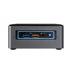 Intel - NUC NUC7i3BNHXF 2,40 GHz 7ª generación de procesadores Intel® Core™ i3 i3-7100U Negro, Gris Nettop Mini PC