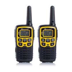 Midland - XT50 24channels 446.00625 - 446.0935MHz Negro, Amarillo two-way radios