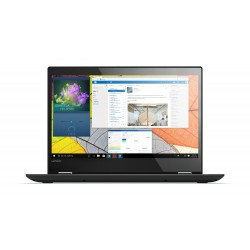 """Lenovo - Yoga 520 Negro Híbrido (2-en-1) 35,6 cm (14"""") 1366 x 768 Pixeles Pantalla táctil 2,40 GHz 7ª generación de"""
