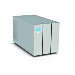 LaCie - 2big Thunderbolt 2 8000GB Escritorio Plata unidad de disco multiple