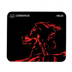 ASUS - Cerberus Mat Mini Negro, Rojo Alfombrilla de ratón para juegos