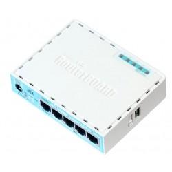 Mikrotik - RB750GR3 Ethernet Turquesa, Blanco router