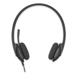 Logitech - H340 Binaurale Diadema Negro auricular con micrófono