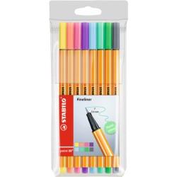 Stabilo - Point 88 8er Medio Multicolor 8pieza(s) rotulador