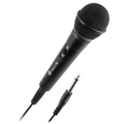 NGS - Singer Fire Karaoke microphone Alámbrico Negro