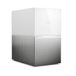 Western Digital - My Cloud Home Duo 8TB Ethernet Blanco dispositivo de almacenamiento personal en la nube