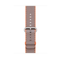 Apple - MQVP2ZM/A Grupo de rock Gris, Naranja Nylon accesorio de relojes inteligentes